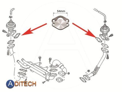 026 AGR piastra di chiusura per AUDI SEAT VW TD TDI 1z AHU AHH AFN AVG