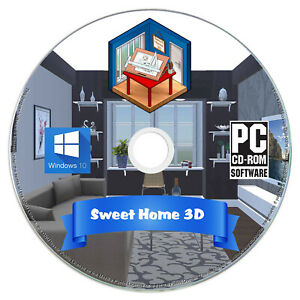 Sweet Home 3d Interior Design House Architect Software Kitchen Bathroom Cad Ebay
