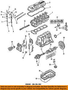 [DIAGRAM_1CA]  NISSAN OEM 98-01 Altima-Engine Crankshaft Crank Seal 122792B500 | eBay | Altima Engine Diagram |  | eBay
