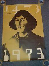 Vintage 1973 Nicolaus Copernicus / Mikołaj Kopernik Poster astronomy math