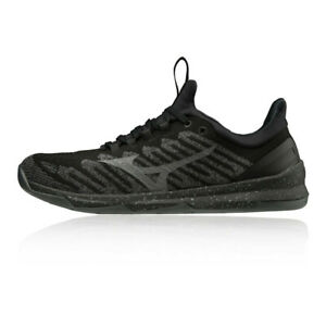 Mizuno-TC-01-Pour-Homme-Formation-Gym-Fitness-Chaussures-Noir-Sport-Respirant