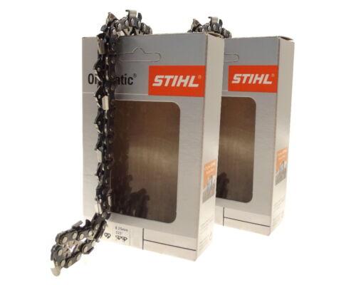 2x38cm Stihl Rapid Micro Kette für Husqvarna 345 Motorsäge Sägekette .325 1,5