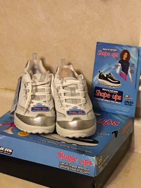 Skechers 12307 Shape UPS Womens White