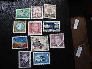Osterreich-Briefmarke-yt-N-1501-1505-1507-1513-A-1516-1518-1519-1521-1523-Obl