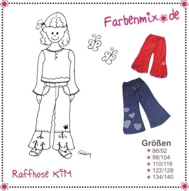 Farbenmix Schnittmuster Kim (Hose Größe 86-140)