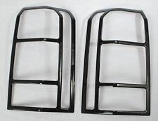 Rear Tail Light Lamp Frame Cover Trim For Jeep Patriot 2011 2017 2pcs Black Fits 2012 Jeep Patriot