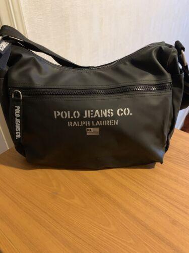 à Noir jamais Usa Sac noir utilisé Polo Vintage Ralph Jeans Lauren bandoulière d8vz8Hqw