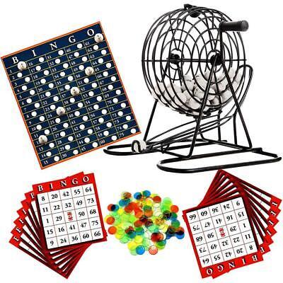90 Système Bingo-Lotto Set dans caisse en bois
