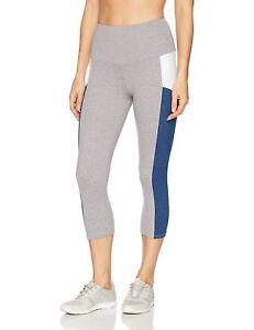 aa7015bd56d83 NWT $69 Onzie Yoga Stunner Capri Legging #2011 in Moonlight Blue ...