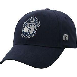 Men-039-s-Russell-Navy-Georgetown-Hoyas-Endless-Adjustable-Hat