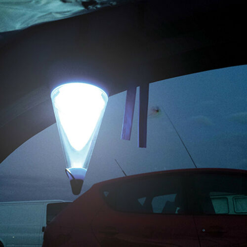 Silverline LED-Campinglaterne Spritzwassergeschützte LED-Laterne