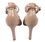 thumbnail 6 - Womens Ladies Pier One Nude Patent High Heel Party Court Shoes Size UK 8 New
