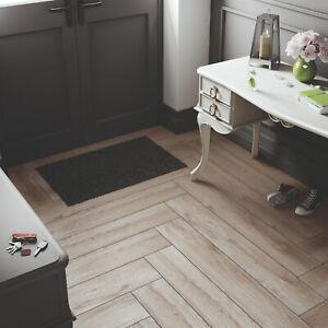 Details About 18 59 M2 Porcelain Tiles Brown Wood Effect 120x20 Wall Floor Kitchen Bathroom