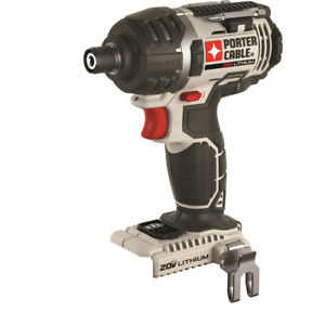 Porter-Cable-20V-Max-Li-Ion-1-4-034-Hex-Impact-Driver-Tool-Only-PCC640B-New