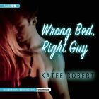 Wrong Bed, Right Guy by Katee Robert (CD-Audio, 2013)