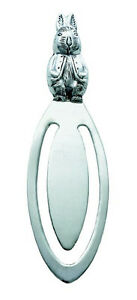 SOLID-HALLMARKED-SILVER-RABBIT-THEME-BOOKMARK