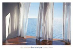 Blues Come Through by Alice Dalton Brown Art Print Coastal Beach Poster 40x60