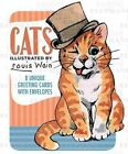 Louis Wain Illustrated Cats Boxed Cards 9781595833686 Laughing Elephant 2008