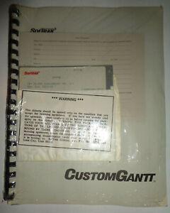 CustomGantt Version 1.1, by Softrak. 1987. For IBM PC-DOS ... SEALED. BRAND NEW