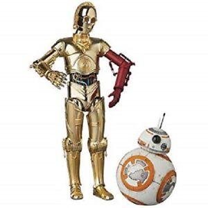 Mafex No.029 Star Wars C-3po et Bb-8 Figure 100% Authentique Nous Vendeur Nouveau Medicom 721272486247