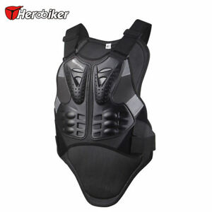Motocross Motorcycle Vest Back Spine Protector Armor Sleeveless ATV Clothing Tr
