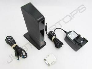 Dell Latitude 5480 USB 3.0 Port Replikator Dock W / Dvi-I Video Ausgang Inc PSU