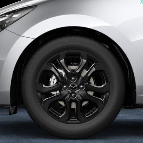 "Genuine Mazda 2 2015 Sport Black Alloy Wheel 5.5 x 16/"" 9965-64-5560"