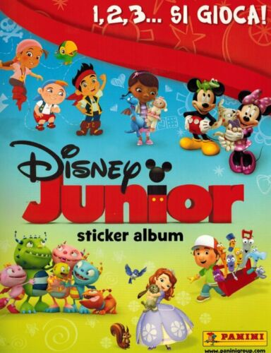 Disney Junior Album Vuoto Panini