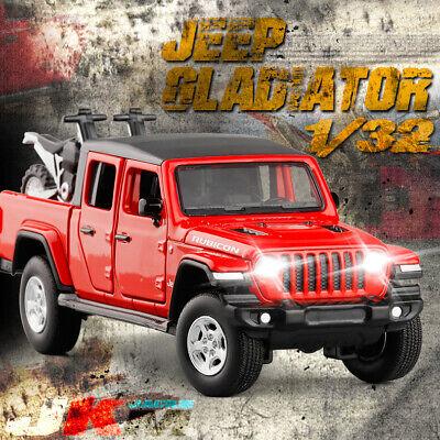 Jeep Wrangler Gladiator Pickup Truck 1:32 Model Car Diecast Vehicle Gift Black