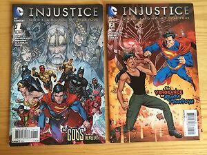 LOT-DE-2-COMICS-DE-INJUSTICE-YEAR-FOUR-Batman-Superman-Wonder-Woman