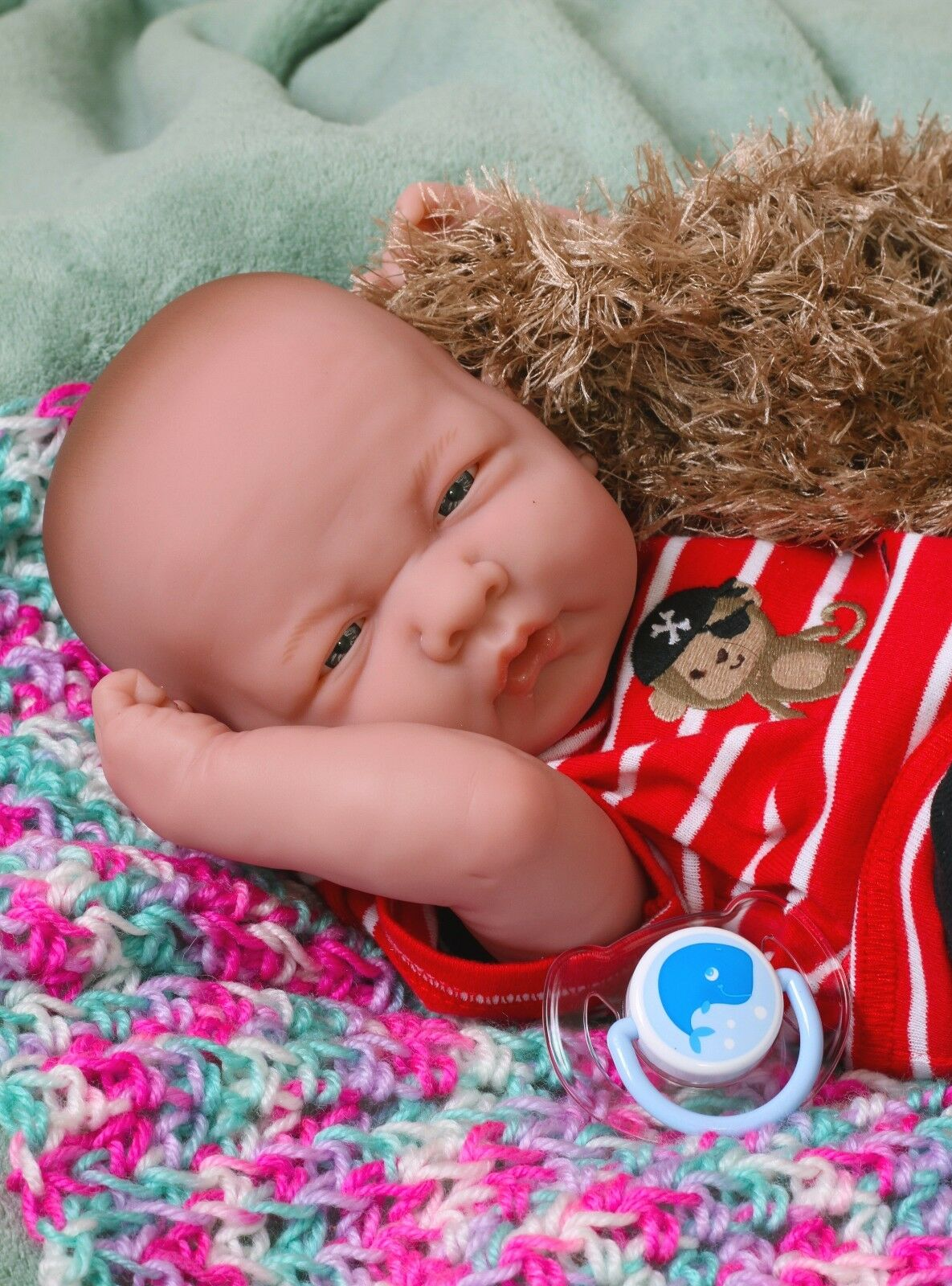 Bambino Bambola Berenguer 14    Reale Alive Morbido Vinile Prem. Fatto a uomoo  autentico
