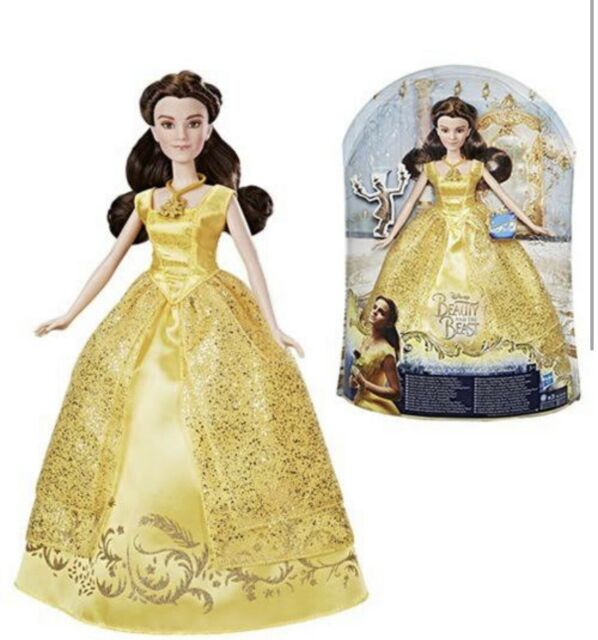BEAUTY AND THE BEAST ENCHANTING MELODIES  & BALL GOWN BELLE DOLLS.