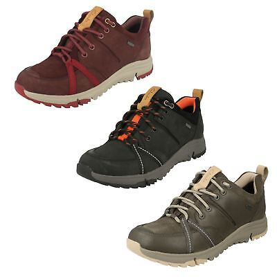 LADIES CLARKS LACE UP CASUAL GORE TEX