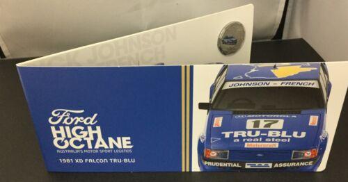 2018 Ford Motorsport RAM Coloured Unc coin 1981 XD Falcon Tru-Blu
