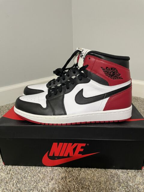 Size 10 - Jordan 1 Retro High OG Black Toe 2013