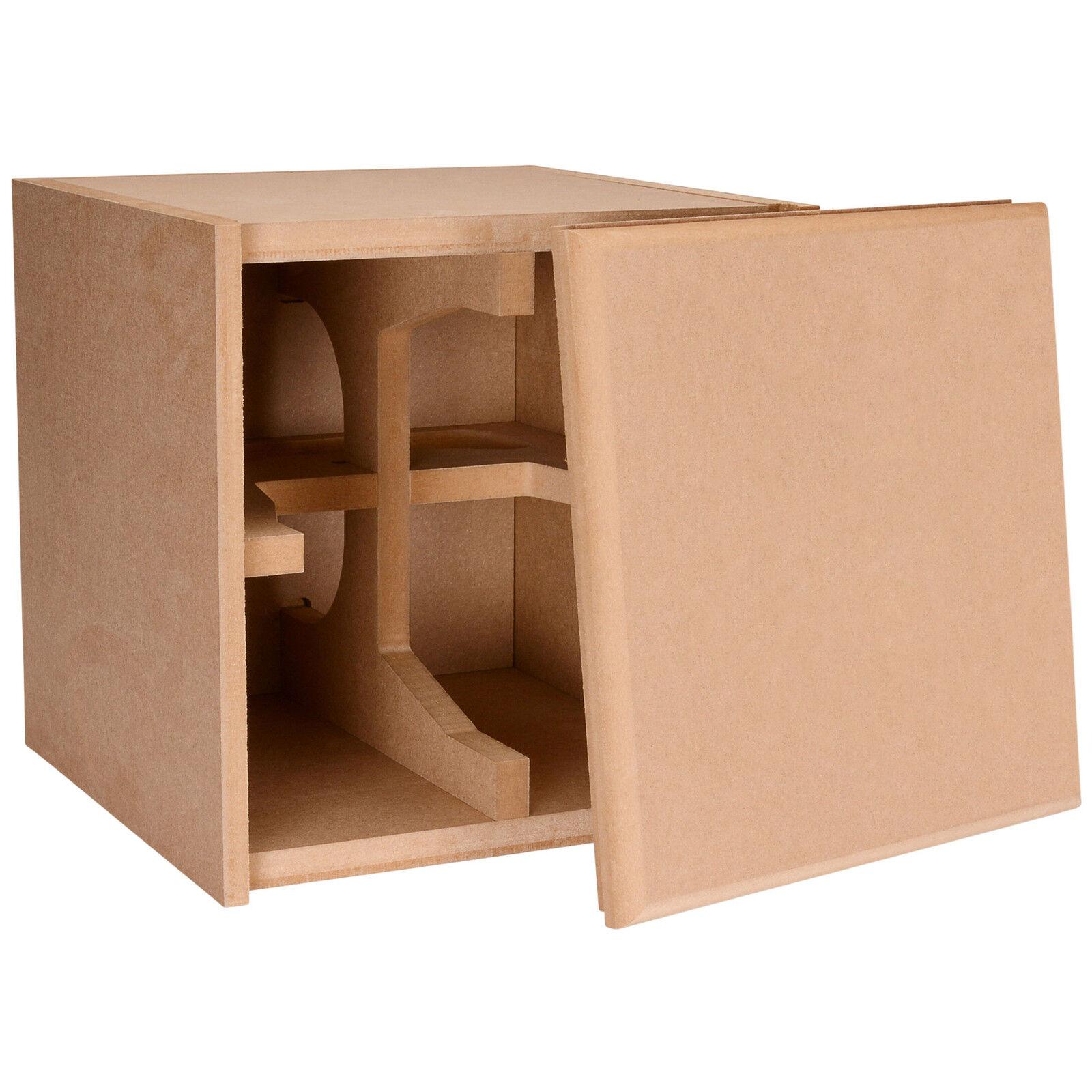 Knock-Down MDF 0.75 cu. ft. Subwoofer Cabinet