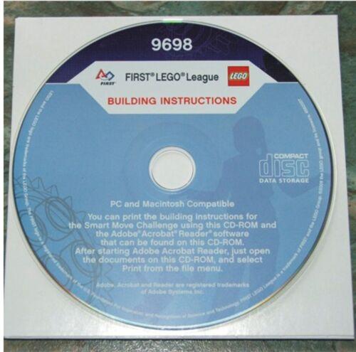 9698 1 CD nuevo instrucciones de instalación First Lego League 2009 75