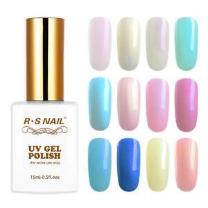 2019-Hot-RS-Nail-Pearl-Shell-Gel-Nail-Polish-Soak-off-UV-LED-Gel-Colour-15ml