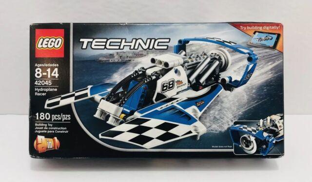 LEGO 42045 TECHNIC HYDROPLANE RACER Age 8-14 Discontinued NIB!!