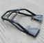 Hollow-Core-Tube-Motorcycle-Rear-Luggage-Rack-Carrier-Mounting-Bracket-Kit-Black thumbnail 11
