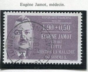 TIMBRE FRANCE OBLITERE N° 2455 EUGENE JAMOT / Photo non contractuelle