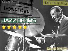 Downtown JAZZ Drum Hits  ZIP 100 DISK - Akai MPC 2000XL FORMAT