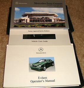 2001 mercedes benz e320 e430 e55 owners manual set 01 e 320 430 55 rh ebay com 2001 mercedes benz e320 owners manual 2001 Mercedes-Benz E430