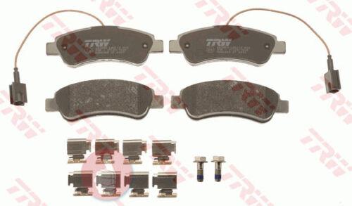 Original TRW Bremsbeläge mit Warnkontakt GDB2068 für Hinterachse