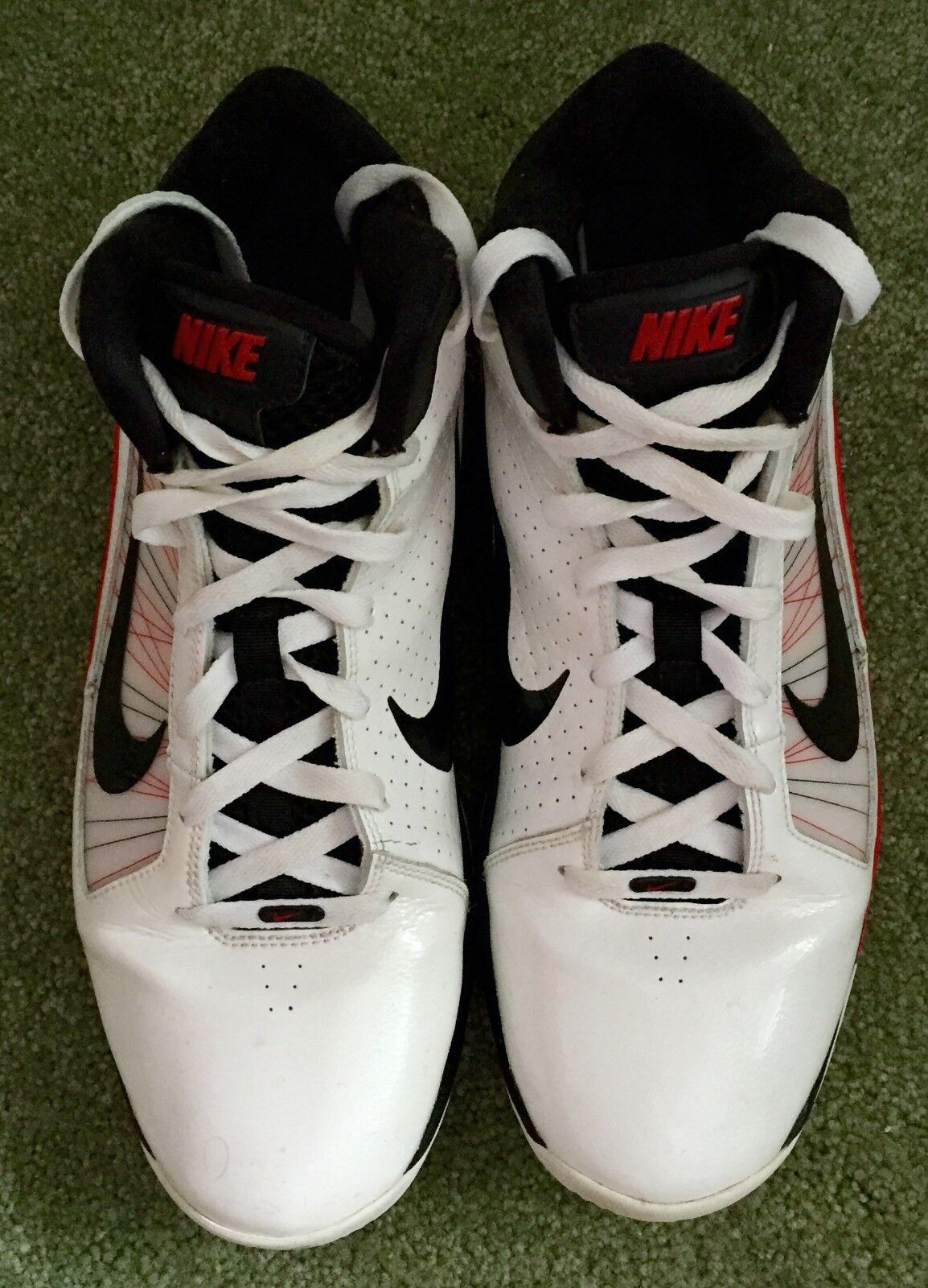 cc26d3ecbf1f ... Men s Men s Men s Nike AIR MAX HYPERFLY Basketball Shoes SIZE 12 WHITE  ( 407535 100 ) ...
