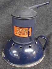 Vintage STERNO Canned Heat Vaporizer Enamelware (AB217)