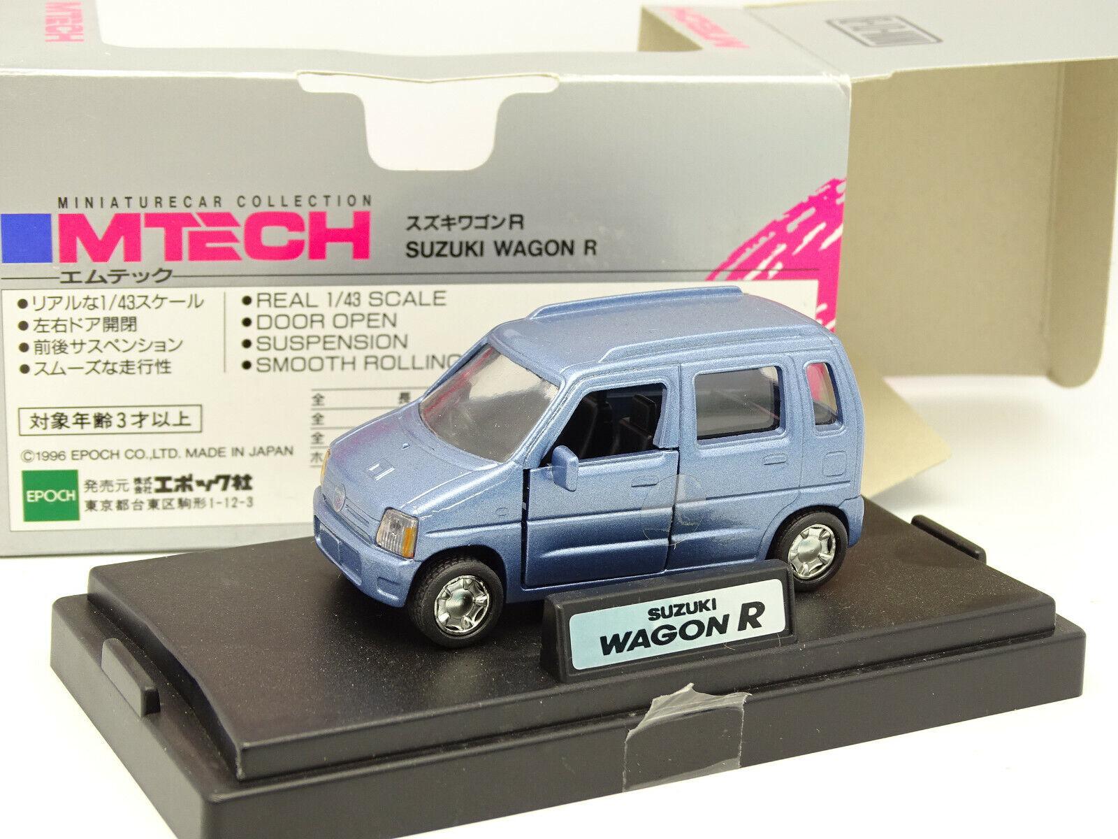 a la venta Epoch m-Tech 1 43 - Suzuki Wagon R R R Azul  directo de fábrica