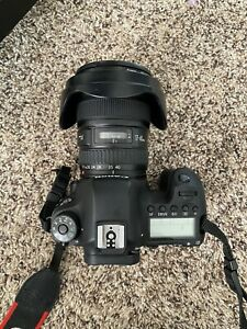 Canon EOS 6D Camera with EF 17-40 mm lens (BUNDLE)