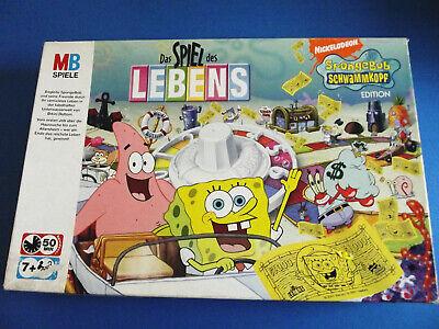 PARKER  Monopoly Spongebob  Ersatzteile   7 Stück   neuwertig