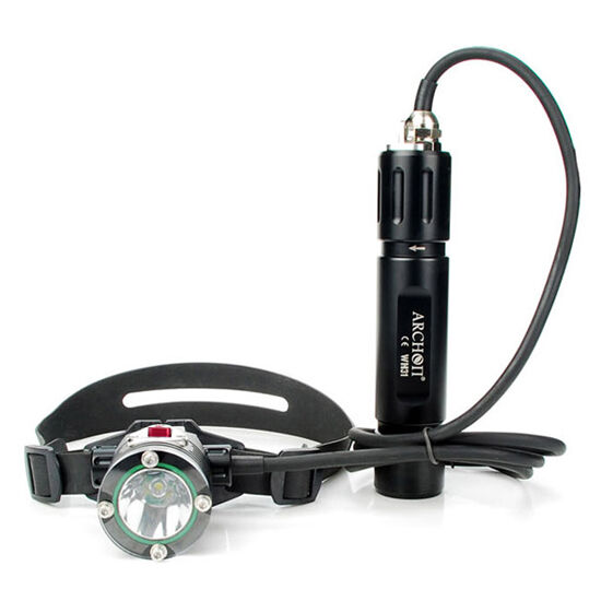 Archon WH31 DH25 Canister Scuba Diving Flashlight Cree XM-L LED Torch Headlamp